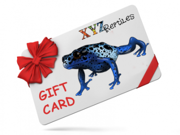 Reptile Pet Gift Cards