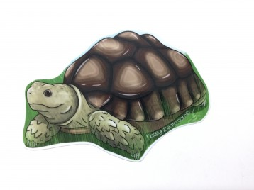 Aldabra Tortoise Animal Stickers