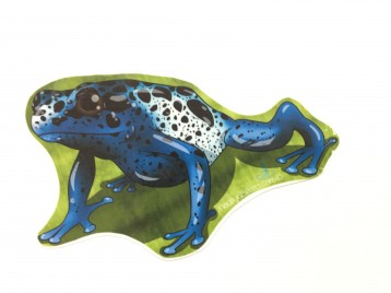 Azureus Frog Animal Stickers