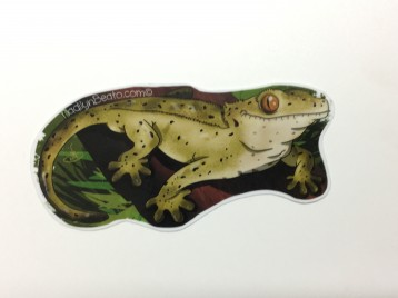 Crested Gecko Animal Stickers