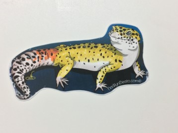 Leopard Gecko Animal Stickers