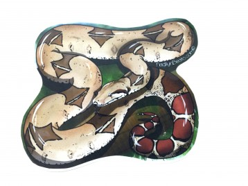 Red Tail Boa Animal Stickers
