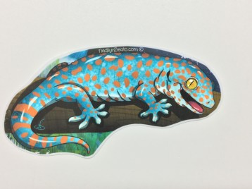 Tokay Gecko Animal Stickers