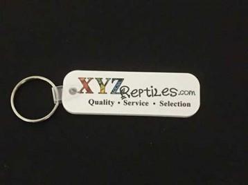 xyzReptiles Keychain