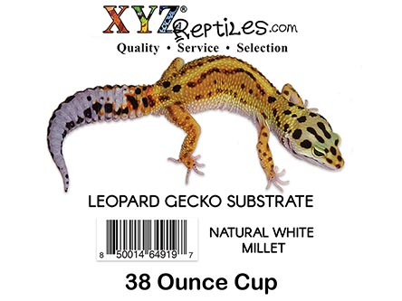 leopard gecko substrate white millet