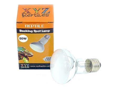 reptile heat lamp bulb 50 watt